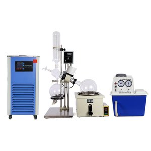 Wholesale manual vacuumed pump resale online - RE High Performance Laboratory Rotary Evaporator Equipment with Manual Lift Digital Heating Bath and Cryogenic and Vacuum Pump Turnkey