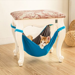 Wholesale Warm Hanging Cat Bed Mat Soft Cat Hammock Winter Hammock Pet Kitten Cage Bed Cover Cushion Rest House for drop shipping