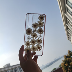 Wholesale 0211 CASE COVER FOR IPHONES HUAWEI VIVO SAMSUNG OPPO SHOCKPROOF PROTECTION FLOWERS SMALL DAISY TRANSPARENTS SMOOTH