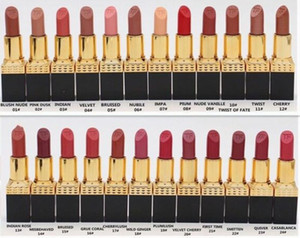 Wholesale Factory Direct DHL New Makeup Lips Hot Brand Lipstick Rouge Lip Colour Matte Lipstick Different Colors