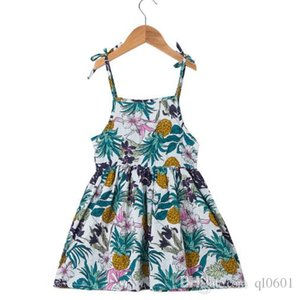 Wholesale Princess Dress Summer Korean Style Girl s Pure Cotton Belt Beach Skirt green red yellow white free shopping