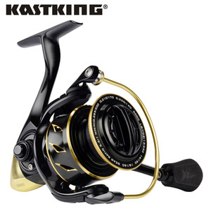 Wholesale KastKing Sharky III Gold Saltwater Spinning Reel Max Drag KG Ball Bearings Powerful Fishing Reel for Pike Bass