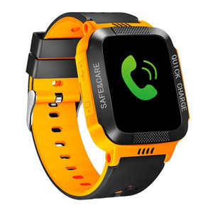 Wholesale Y21s Bracelet With Camera Flashlight Touch Screen Smart Sos Phone Call Gprs Tracker Sim Children Watch J190526