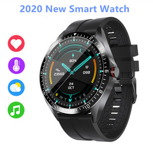 Wholesale smart water for sale - Group buy thermometer smart watchs Heart Rate fitness tracker Blood Pressure IP68 water proof gps Sports bluetooth pk DZ09 android smart watch W26