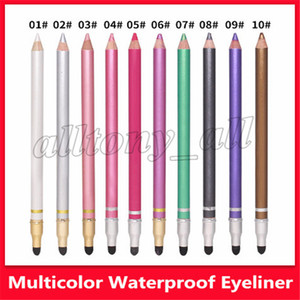 Wholesale 2019 Hot High Quality Multi Colors Waterproof Eyeliner with Colors Eye Make up Pen with fast shipping
