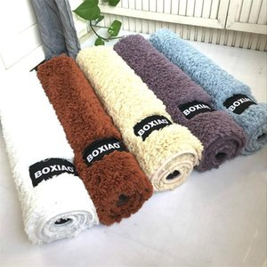 Wholesale size rugs resale online - 7 Sizes Bath Non slip Mat Bathroom Water Absorption Non slip Mats Soft Durable Rug Bedroom Kitchen Entrance Carpet Pad Customized DBC DH1121