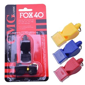 Wholesale Whistle FOX40 4 colours Football Basketball Hockey Baseball Sports Classic Referee Whistle Survival Whistle free FEDEX TNT