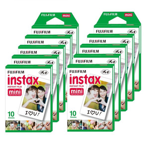 New 20 pcs box fujifilm instax mini 8 film 20 sheets for camera Instax mini 7s 25 50s 90 Photo Paper White Edge 3 inch wide film