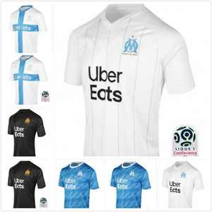 man+kids kit 19 20 Olympique de Marseille Soccer jersey 120th 2019 2020 OM Marseille Maillot De Foot PAYET L.GUSTAVO THAUVIN football shirts