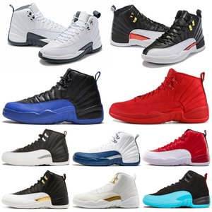 Wholesale retro 12 ovo white gold for sale - Group buy 12 s Mens Basketball Shoes air Michigan Gym Red NYC OVO Wool XII Designer Shoes Sport Sneakers retro Trainers Size
