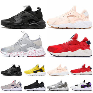 Wholesale huarache womens trainers resale online - Huarache Womens Classic Running Shoes Mens Tennis Triple White Black red grey Huaraches Outdoor Runner sport Trainers Sneakers