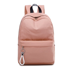 Wholesale backpacks for college resale online - College High School Bags for Girls Teenage Backpack Women Bookbags Pink Big High Quality Nylon Students Bag School Female