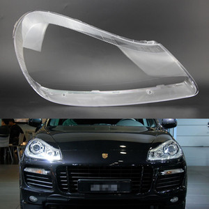 Wholesale For Porsche Cayenne 2007 2008 2009 2010 Car Headlight Headlamp Clear Lens Auto Shell Cover Driver & Passenger Side