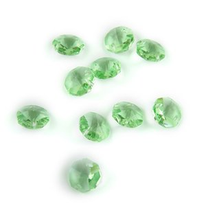 Wholesale chandelier crystals resale online - Two Holes mm Light Green Crystal Chandelier Beads For The Bedroom Chandelier Is Beautifully Decorated Sell Like Hot Cakes