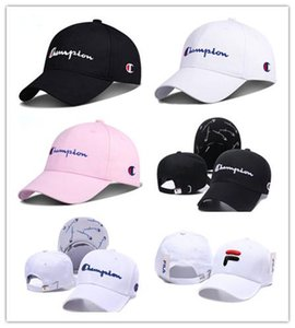 Free Shipping Embroidery Champion Adjustable Snapback Baseball Cap Diamond Leisure Sunscreen Hip Hop Baseball Cap Sunscreen hat