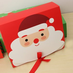 Christmas Eve Gift Box Favour Present Gifts Wrapping Bag Candy Boxes Party Xmas Supplies Christmas Gift Packing
