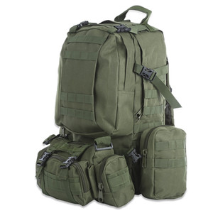 50L Outdoor Backpack Molle army Tactical Backpack Rucksack Sports Bag Waterproof Camping Hiking Backpack For Travel