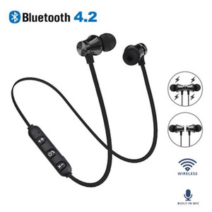 Wholesale Factory Outlet In Ear Magnetic Bluetooth Wireless Headset XT11 Stereo Music Headphones Running Sports Earphones with Mic For IPhone Samsung