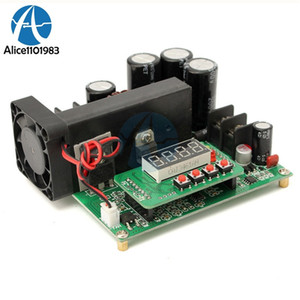 Freeshipping DC-DC BST900 900W 0-15A 8-60V To 10-120V Boost Converter Board Power Supply Module CC CV LED Driver Step Up Modules