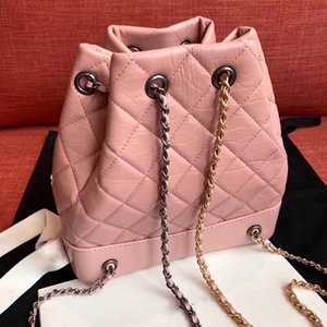 Wholesale Designer Handbags Luxury Backpack Bag The New Pure Pink Female Cowhide Genuine Leather Bag In The Summer Of