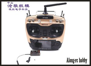 Wholesale radiolink transmitter resale online - New Original Radiolink AT9S Radio Remote Control System DSSS FHSS G CH Transmitter with R9DS Receiver for RC AIRPLANE BOAT RC CAR