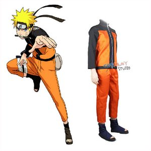 Wholesale cosplay Cosplay Costumes Anime Outfit For Man Show Suits Japanese Cartoon Costumes Naruto Coat Top Pants Adults