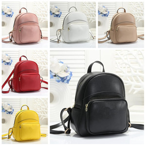 Wholesale hot girls stripes for sale - Group buy 2020 Designers Backpack Woman Luxury Backpack hot Brand Double Shoulder Bags Woman Brand School Bags Leather Shoulder Bag