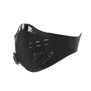 2020 Adjustable Cycling Face Sport Training Mask PM2.5 Anti-pollution Running Mask Activated Carbon Filter Washable Mask Motorcycle 01