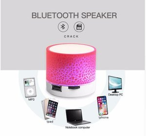 A9 Bluetooth Speaker Mini Wireless Loudspeaker Crack LED TF USB Subwoofer bluetooth Speakers mp3 stereo audio music player on Sale