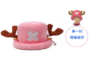 Wholesale 10x Adult Kids Chopper Hat One Piece Baseball Cap Cute Ear Japanese Anime Hats Cosplay Caps Snapback Caps Flat Hat