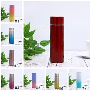 Wholesale mini tumblers resale online - 150ml Mini Stainless Steel Tumblers Gradient Cup Portable Straight Cups Vacuum Insulated Cup Coffee Mugs Fashion Outdoor Bottles GGA2363