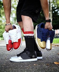 Wholesale Fashion luxury designer men women basketball shoes for mens trainers air platform Sneakers SB Dunk Low flat red bottom Running shoe