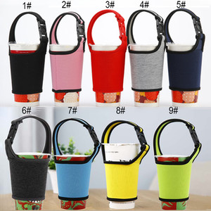 Wholesale Multicolor Neoprene Beverage Cooler Sleeve Holder Milk Tea Drink Cooler Cover Bag Outdoor Sport Travel Water Bottle Tote Cup Cover BH2126 ZX