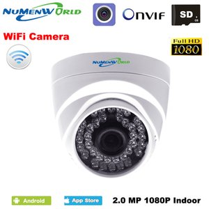 Surveillance IP Camera HD 1080P WIFI IP dome wireless Security CCTV webcam IR night vision SD card slot use for