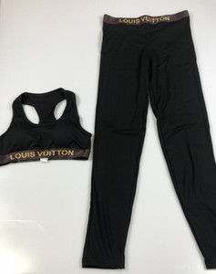 Wholesale VV luxury Women Yoga Set Sports Top Vest Reflective Leggings Fitness Clothing Running Tights Jogging Workout Yoga Leggings Sport Suit