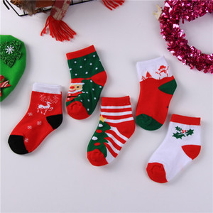 Wholesale New Autumn Winter Baby Christmas Socks Kids Boys Girls Ankle Socks Child Sock Children Foot Warm Cotton Socks A259