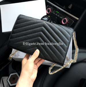 Wholesale highest quality gold for sale - Group buy Woman bag Original Box Genuine Leather High Quality Women Messenger Bag Handbag Purse