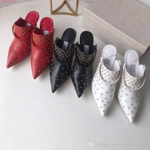 Wholesale Women High Heels Dressing Shoes Stylish high heeled sandals with Nailing hole Size heel height cm