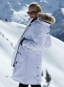 Wholesale Personality Thickening Women Designer Winter Coats Hair Collar Decoration Fashion Coat Medium Length Womens Coats with Fur