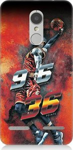 Wholesale Teknomeg Lenovo K6 Basketball Player Pattern Design Silicone Case Ship from Turkey HB