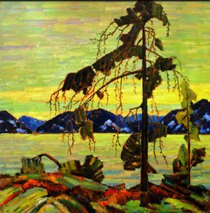Wholesale group abstract art framed resale online - The Group of Seven Tom Thomson The Jack Pine Home Wall Art Handpainted HD Print Oil Painting On Canvas Wall Art Canvas Pictures