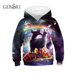 Gersri 3D Print Children Hoodies Autumn Spring Sweatshirt Kids Outerwear High Quality Boys Kids Hooded Pullover Tops on Sale