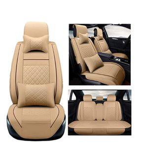 Wholesale Universal PU Leather car seat covers For Skoda Octavia Fabia Superb Rapid Spaceback Joyste Jeti car accessories car sticker