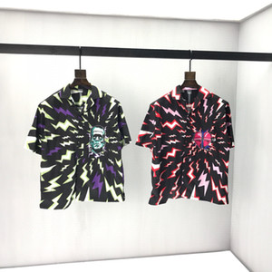 Wholesale dots paintings resale online - 2020ss spring and summer new high grade cotton printing short sleeve round neck panel T Shirt Size m l xl xxl xxxl Color black white vN2
