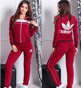 Wholesale DD22S Women Two Piece Clothing Set Autumn Tracksuit Patchwork Hoodie Sweatshirt Long Pant Jogger Outfit Set Female Sweat Suit Factory