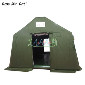 airtight pvc tent balloon inflatable spray booth,inflatable medical emergency shelter booth,temporay warehouse with better price and quality