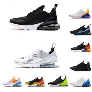 Wholesale 2019 Men Women FlORAL Running Shoes SE Triple Black White RAINBOW HEEL Volt Orange Mens Trainer Sport Sneakers size