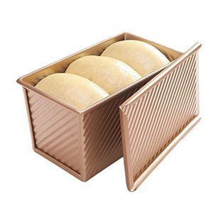 Wholesale bakery bread for sale - Group buy Bread Toast Mold Non Stick Aluminized Rose Gold Metal x10 x11 cm Kitchen Tools Baking Pastry Bakery Tools