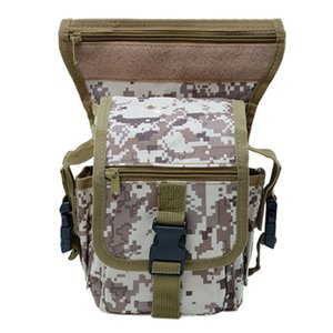 Wholesale crossbody bags for bolso mujer bandolera Unisex Camouflage Multi Function Leg Bag Outdoor Sports Bag Travel Pockets gh