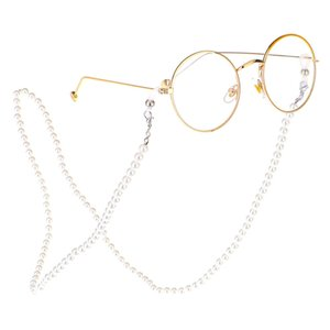 Wholesale 2019 Women Reading Glasses Chain Metal Alloy Cords Holder Neck Strap Anti Slip Eyeglasses Chain Pearl Lanyard Eyewear Stars R